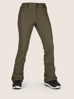 Battle Stretch Pant In Snow Forest, Front View