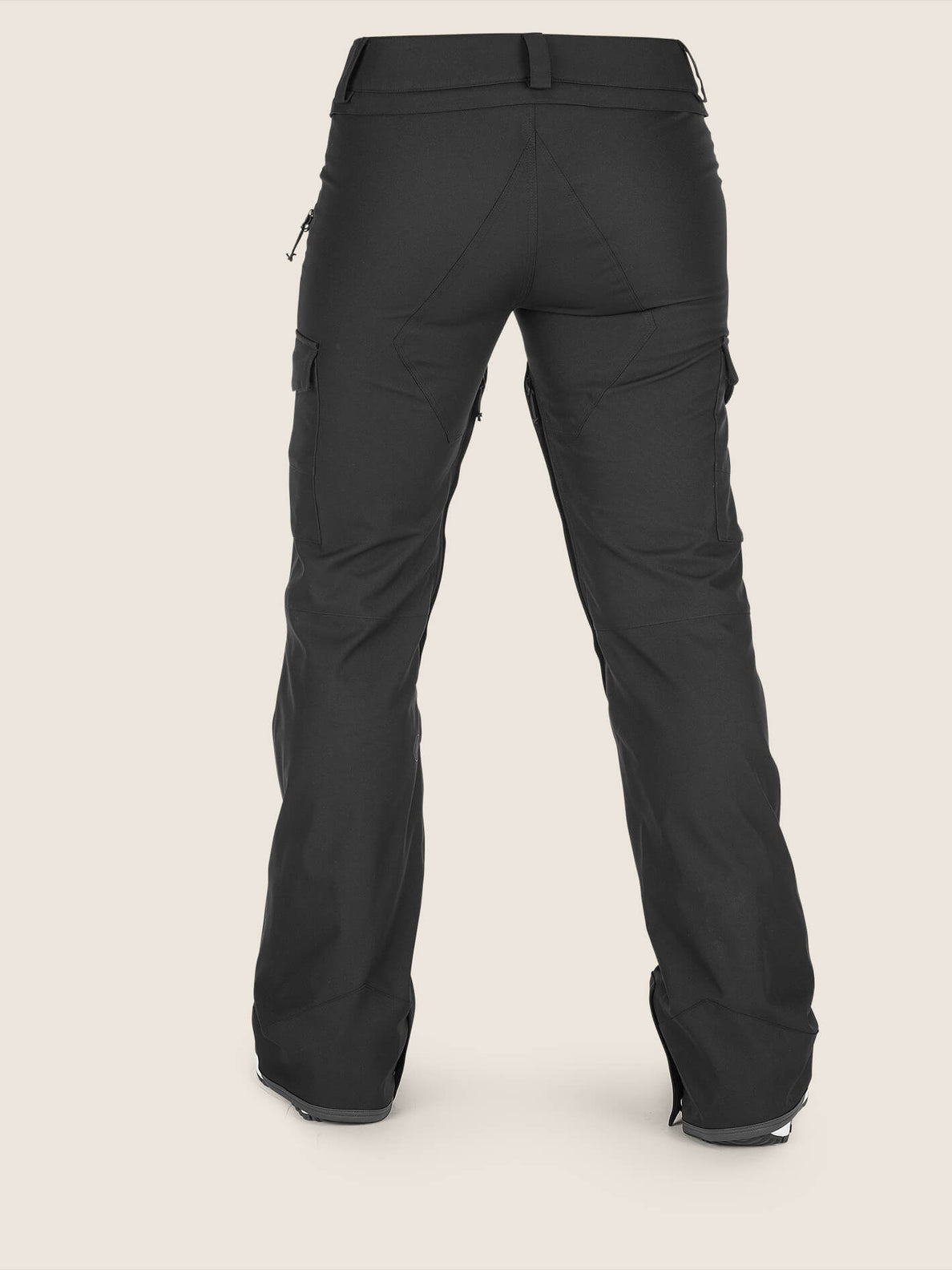 Mira Pant In Black, Back View