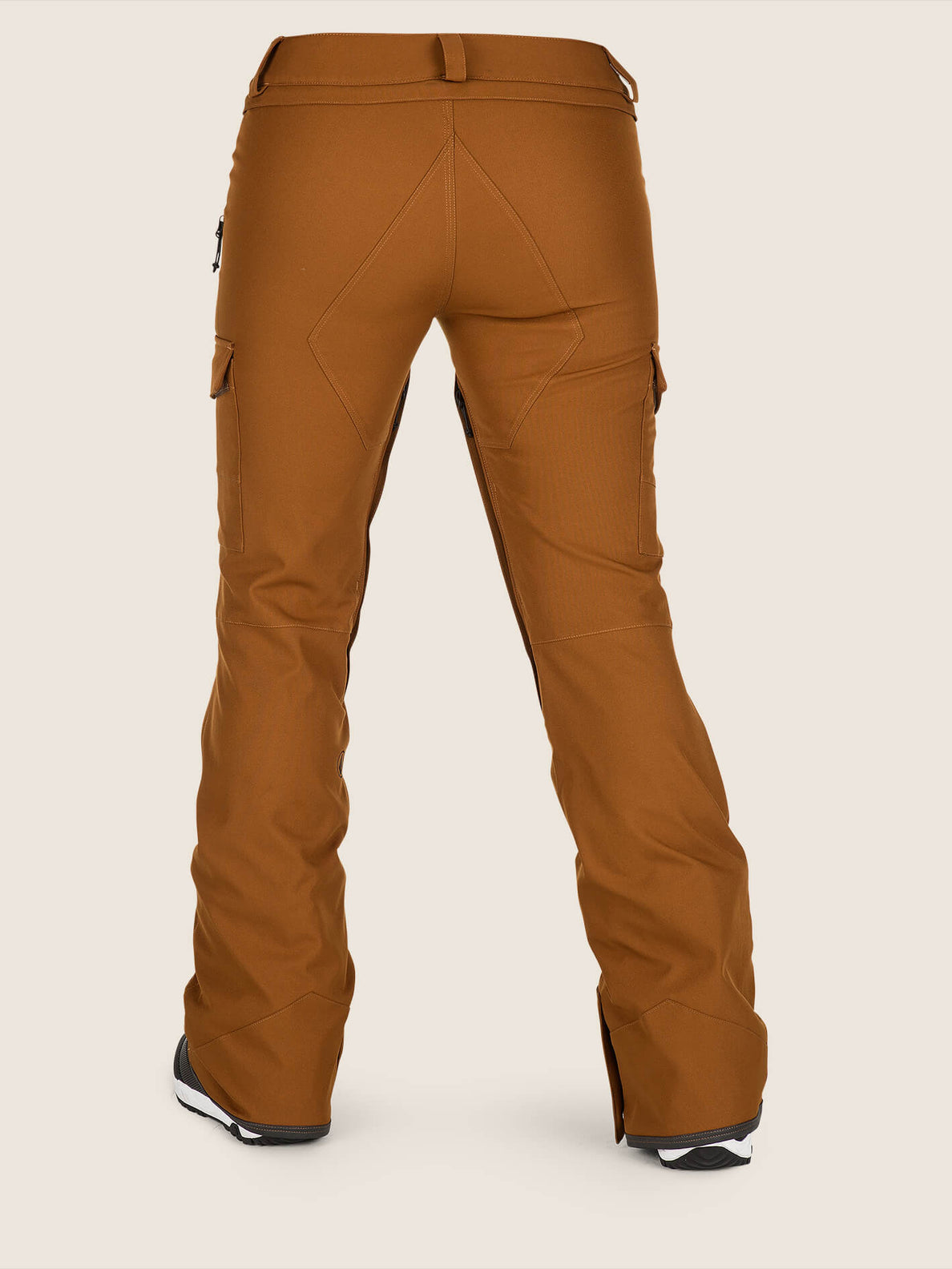 Mira Pant In Copper, Back View