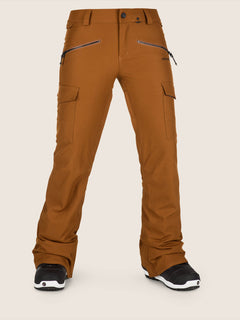 Mira Pant In Copper, Front View