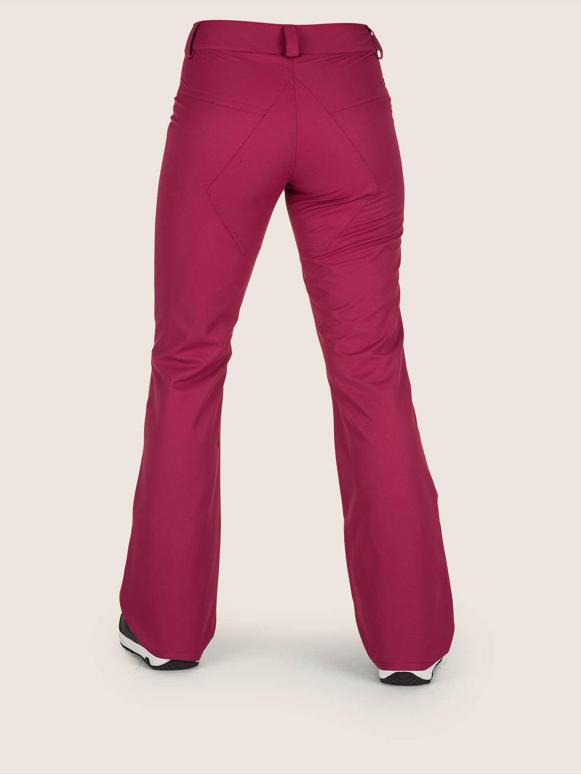 Hallen Pant In Magenta, Back View