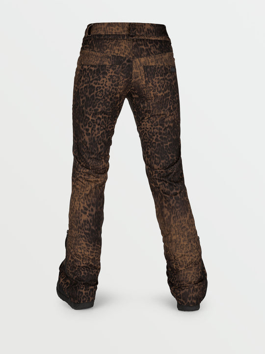 Womens Battle Stretch Pants - Leopard (H1352106_LEO) [B]