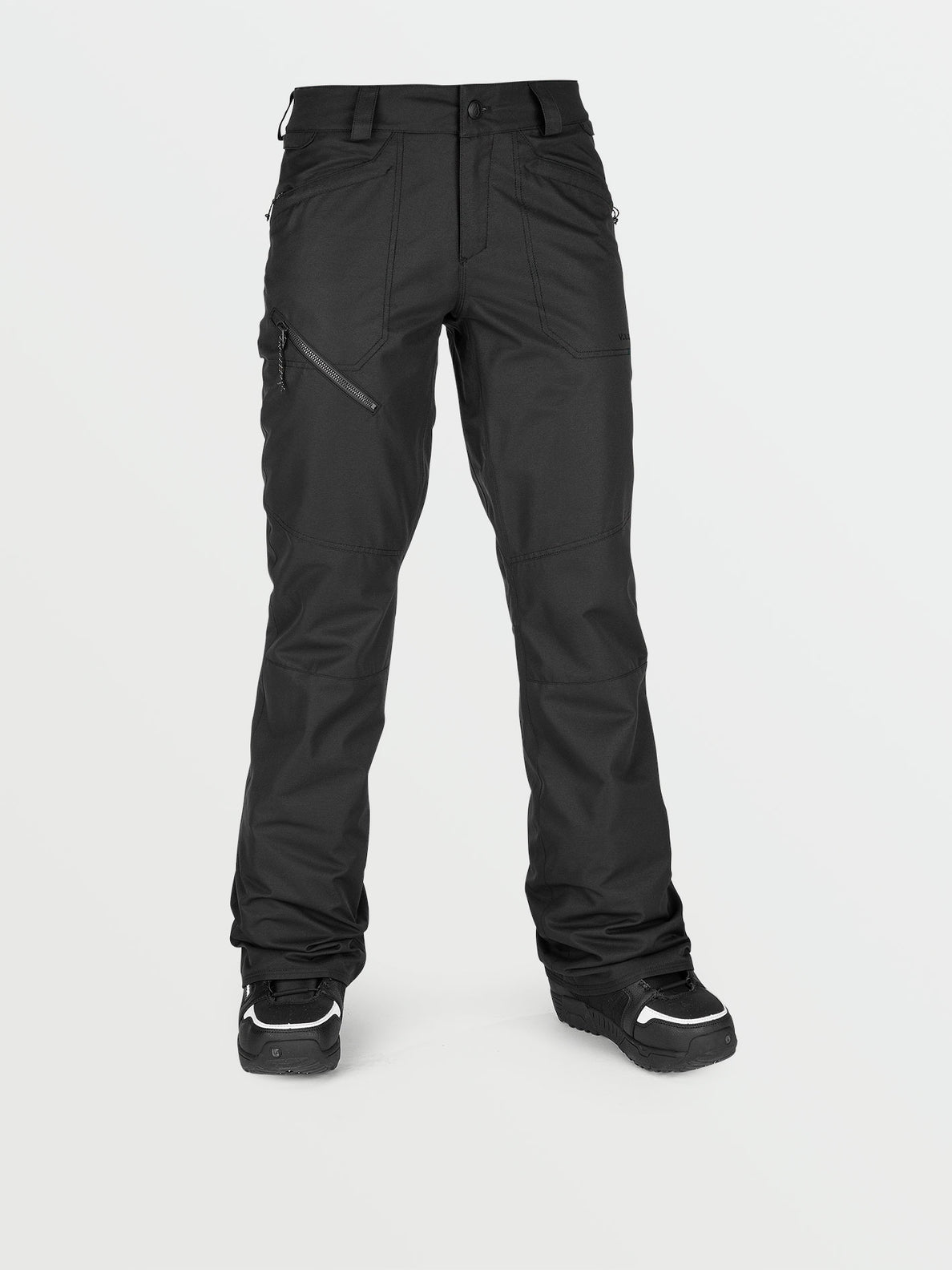 Womens Hallen Pants - Black (H1352107_BLK) [F]