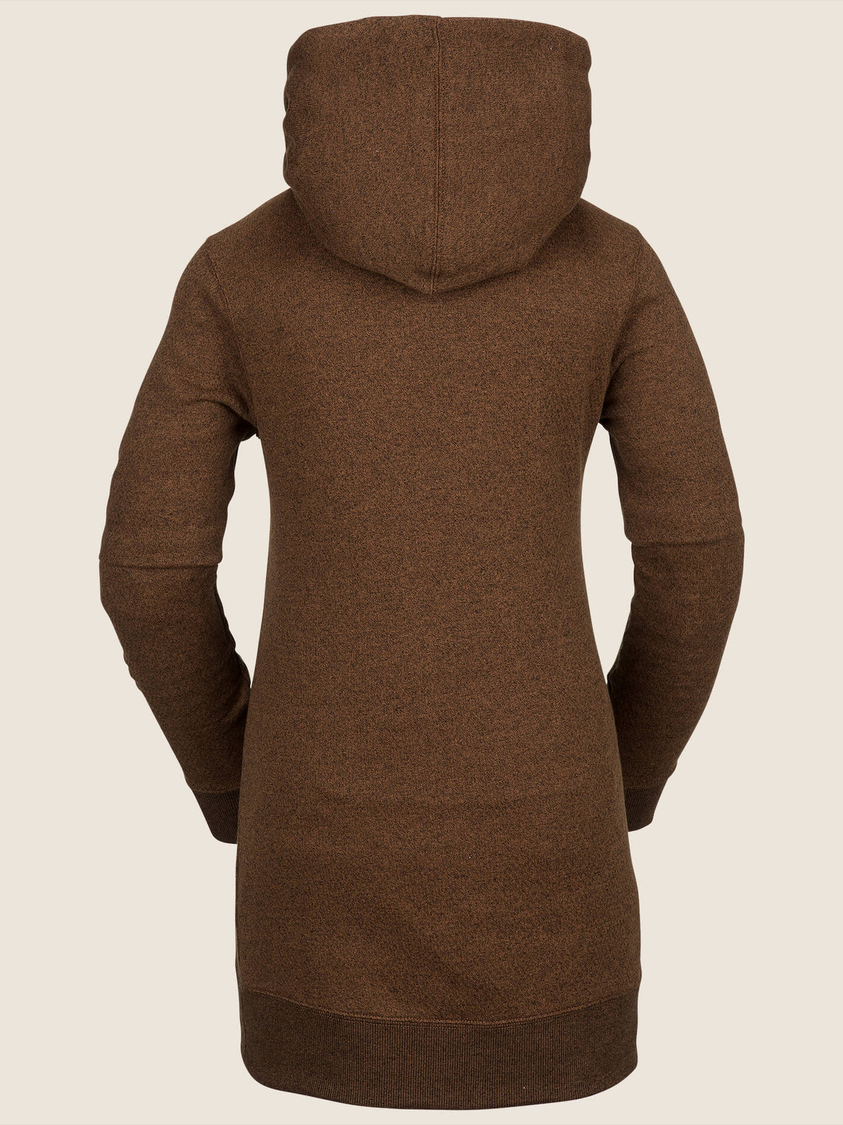 Tower Pullover Fleece In Copper, Back View