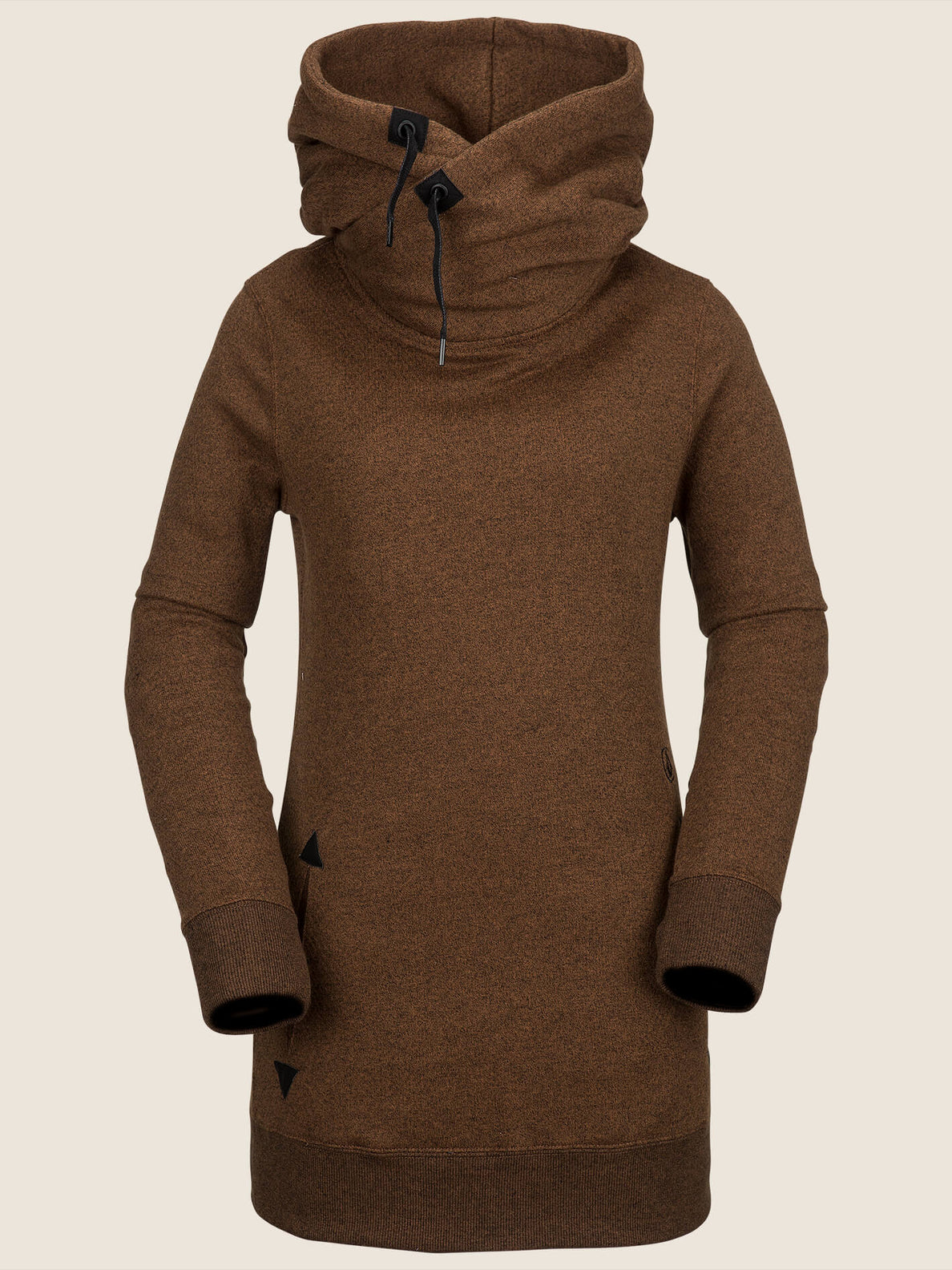 Tower Pullover Fleece In Copper, Front View