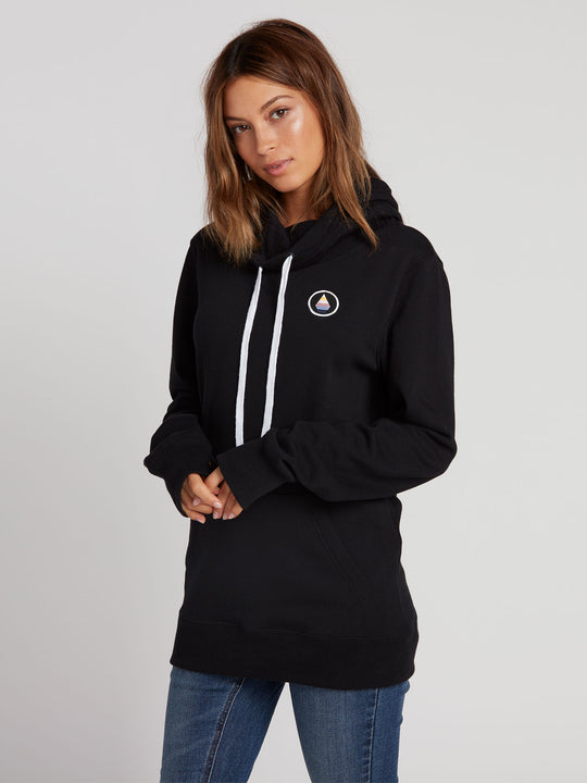 Womens Saloon Fleece - Black