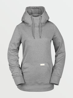 Womens Yerba Pullover Fleece - Heather Grey (H4152104_HGR) [F]