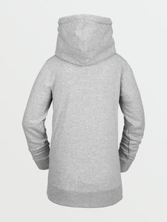 Womens Tower Pullover Fleece - Heather Grey (H4152105_HGR) [B]