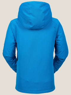 Garibaldi Insulated Jacket In Blue, Back View