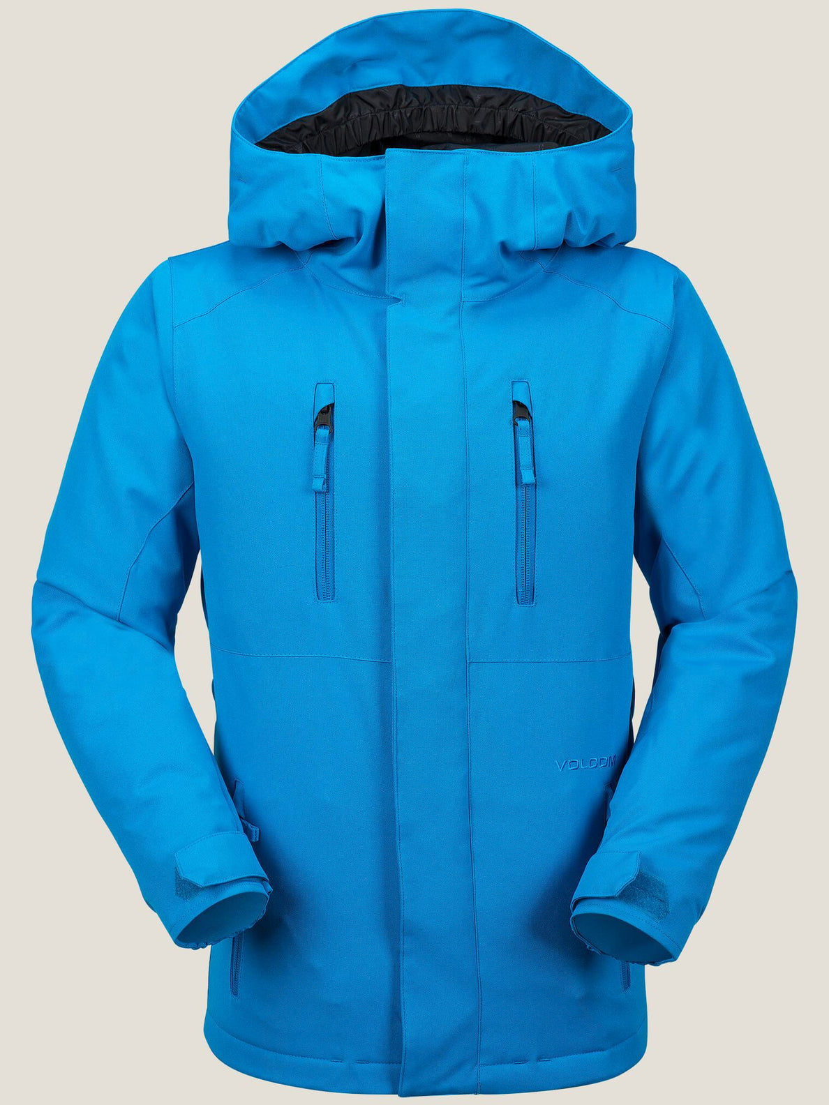 Garibaldi Insulated Jacket In Blue, Front View