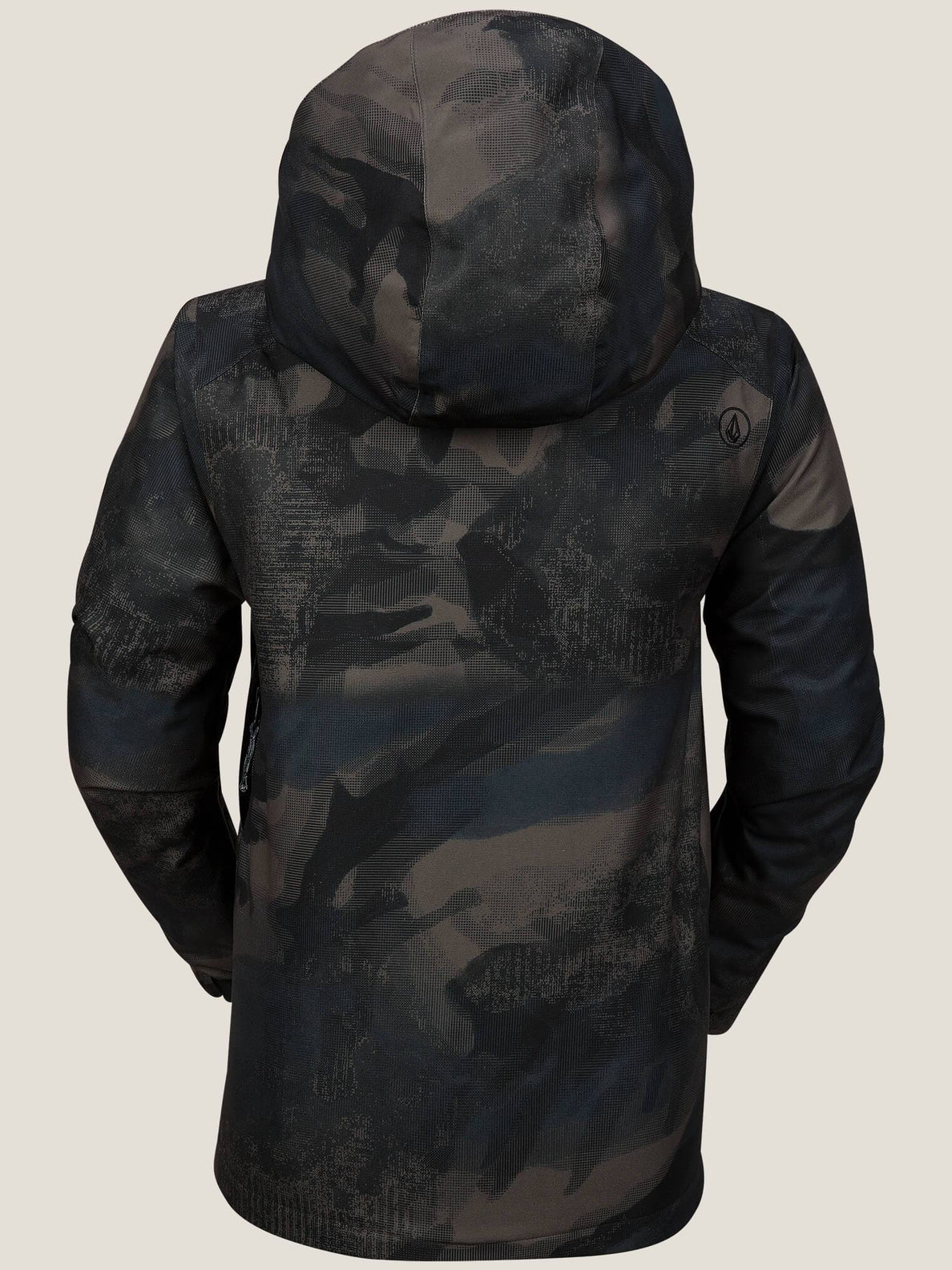 Garibaldi Insulated Jacket In Camouflage, Back View