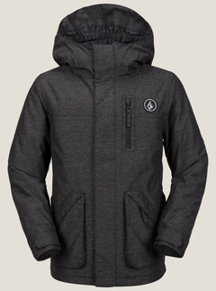 Vs Insulated Jacket In Black, Front View