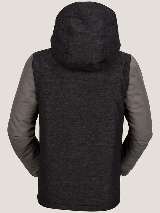 Selkirk Insulated Jacket In Black, Back View