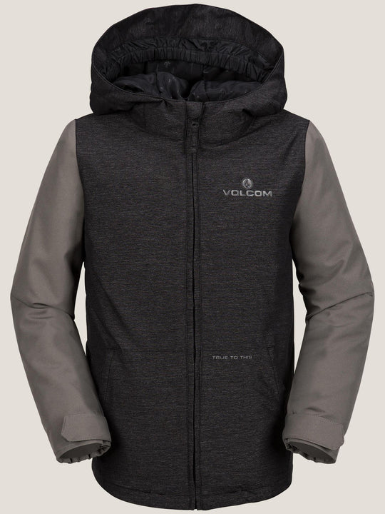 Selkirk Insulated Jacket In Black, Front View