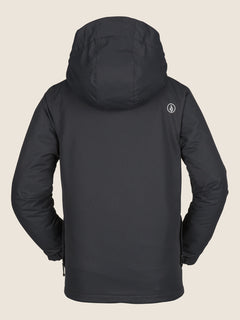 Ripley Insulated Jacket In Black, Back View
