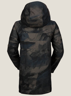 West Jacket In Camouflage, Back View