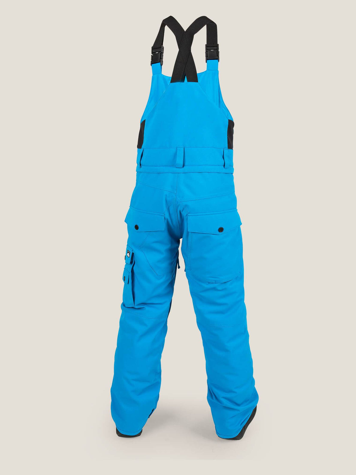 Sutton Insulated Overall In Blue, Back View