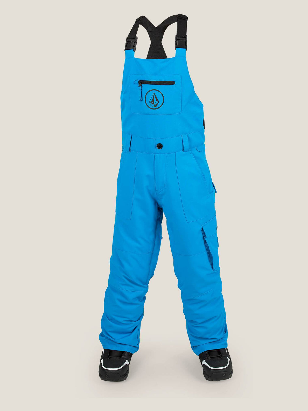 Sutton Insulated Overall In Blue, Front View