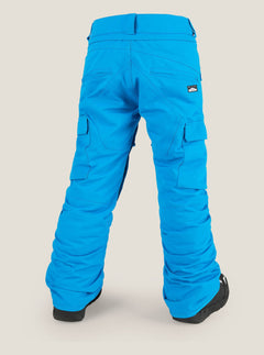 Cargo Insulated Pant In Blue, Back View