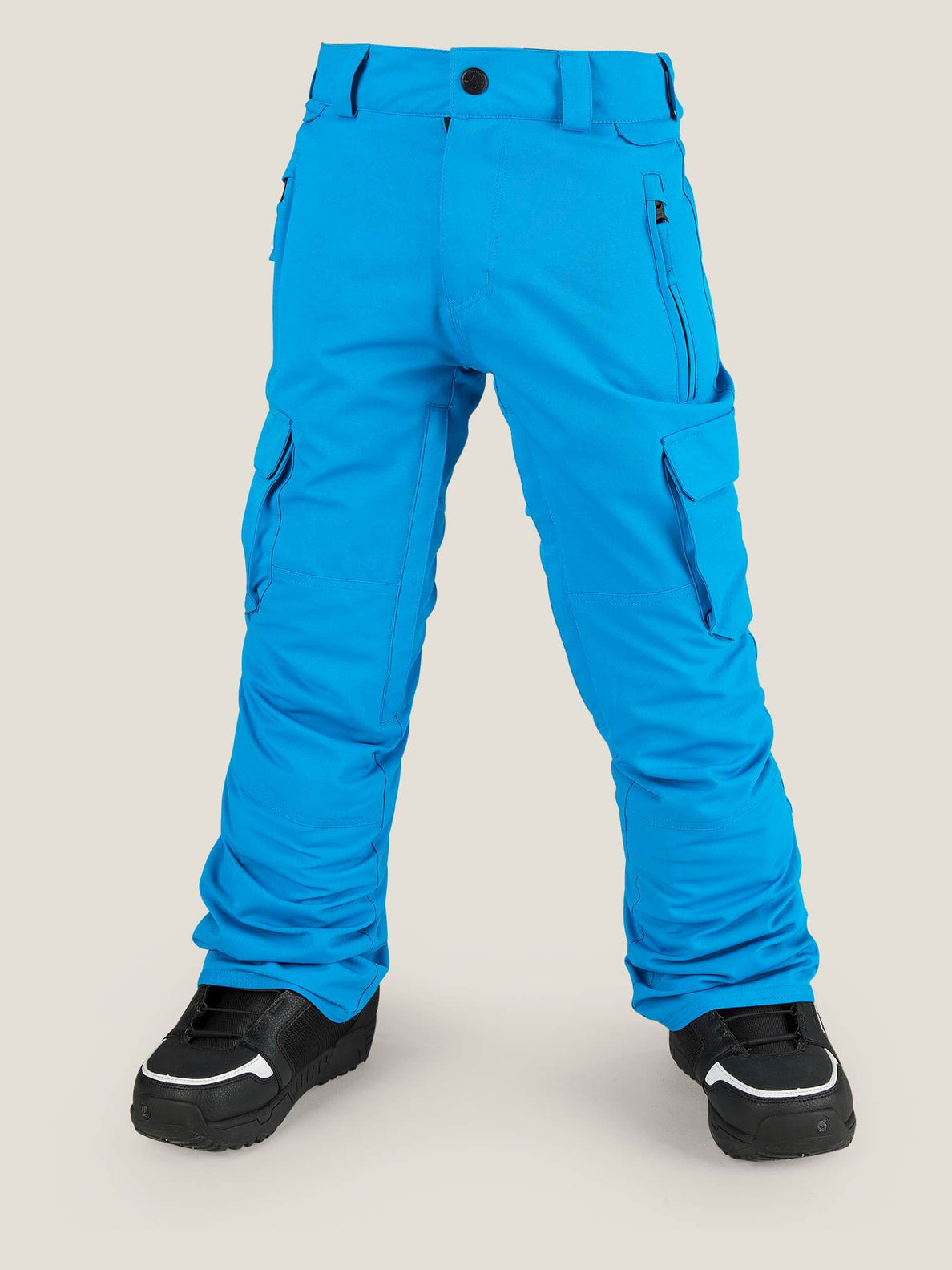 Cargo Insulated Pant In Blue, Front View