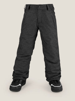 Explorer Insulated Pant In Black, Front View
