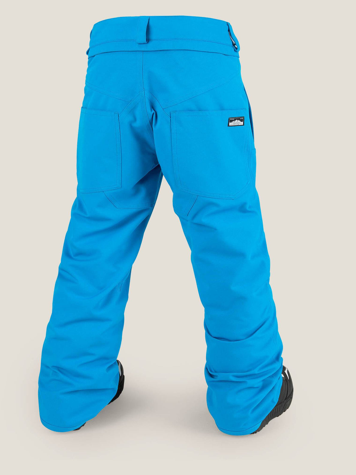 Explorer Insulated Pant In Blue, Back View