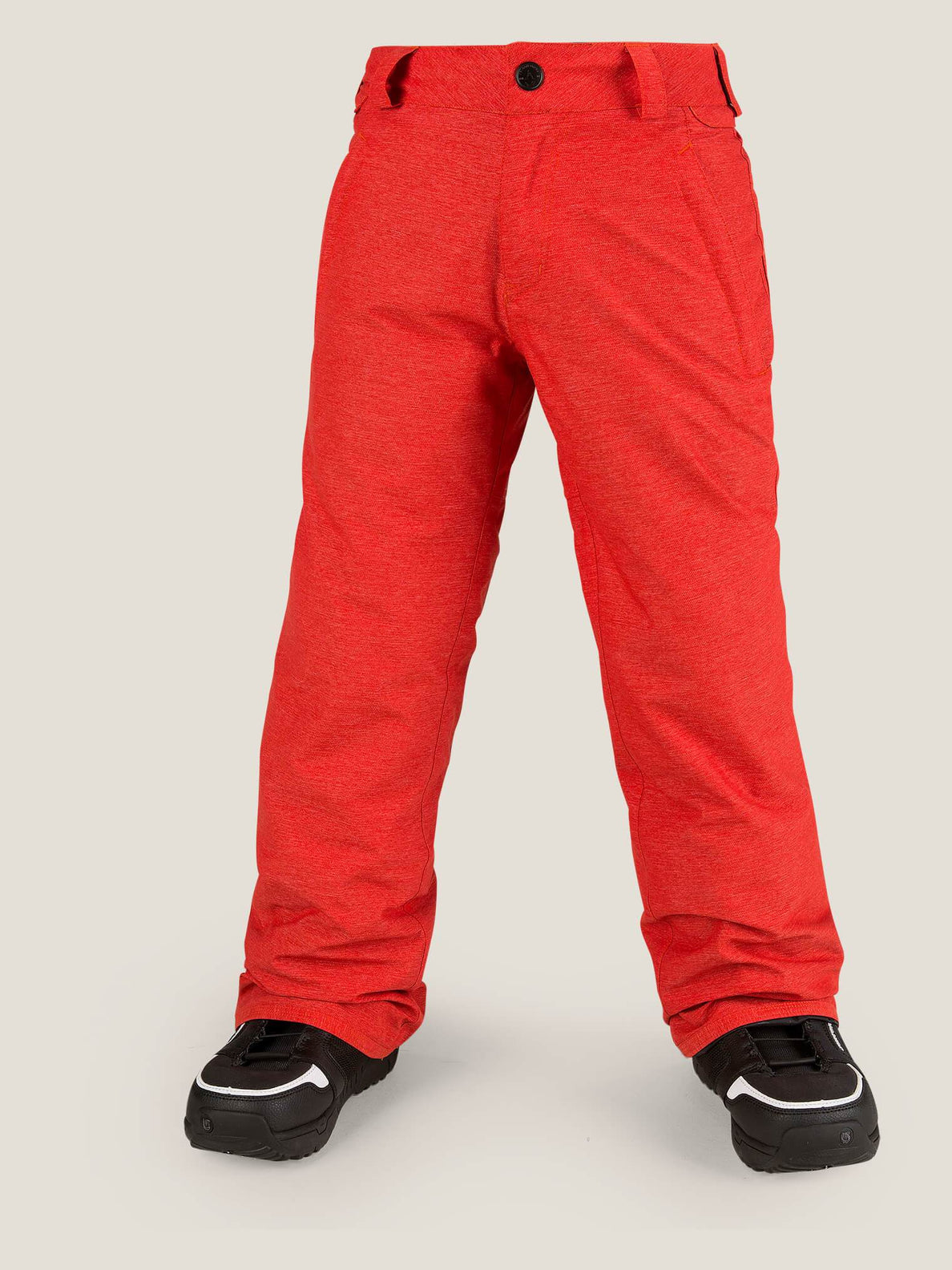 Explorer Insulated Pant In Fire Red, Front View