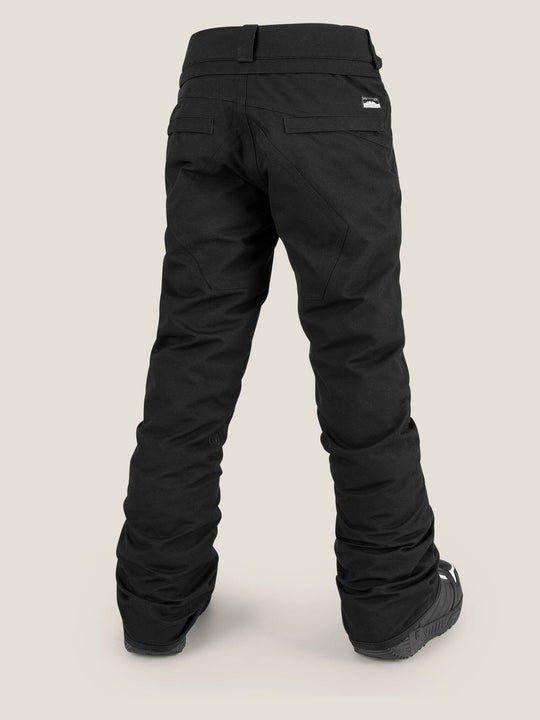 Big Boys Freakin Snow Chino In Black, Back View