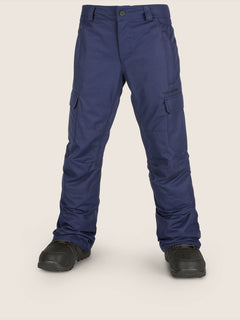 Cargo Insulated Pant In Navy, Front View
