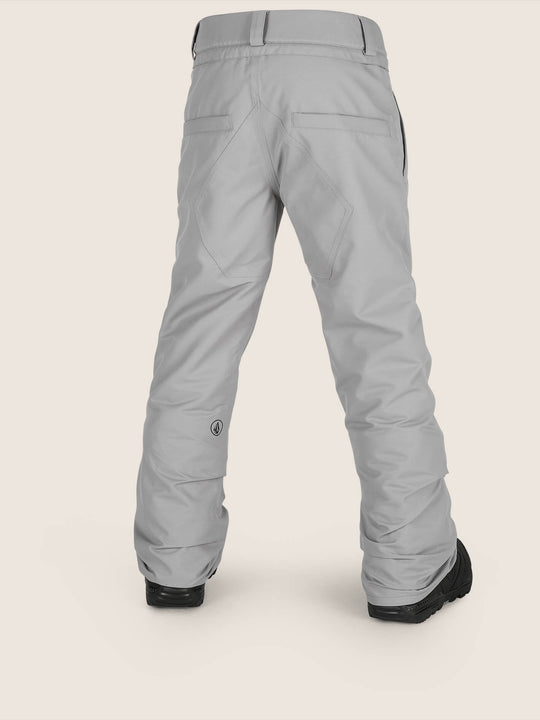 Freakin Snow Chino Pant In Charcoal Grey, Back View