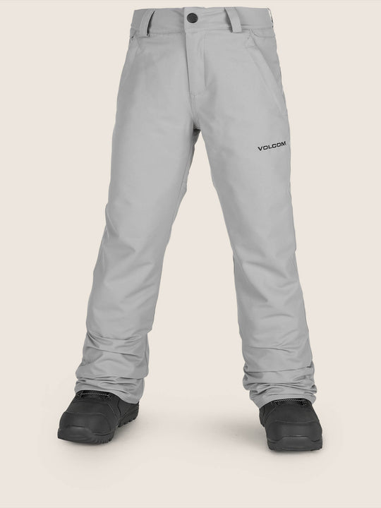 Freakin Snow Chino Pant In Charcoal Grey, Front View