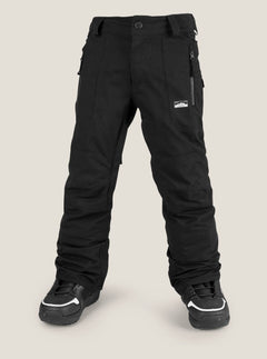 Datura Pant In Black, Front View
