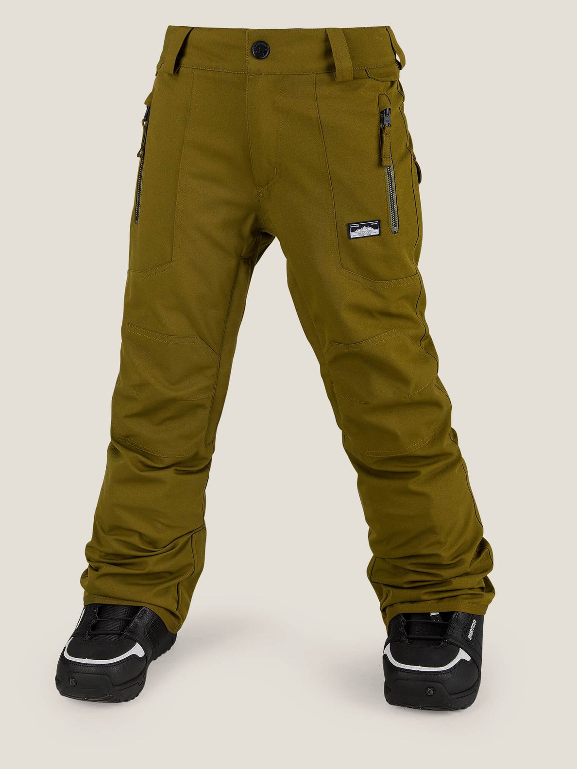 Datura Pant In Moss, Front View