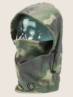 Travelin Hood Thingy In Camouflage, Front View