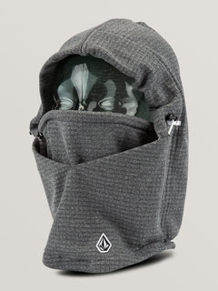 Mens Polartec® Hood Thingy - Heather Grey