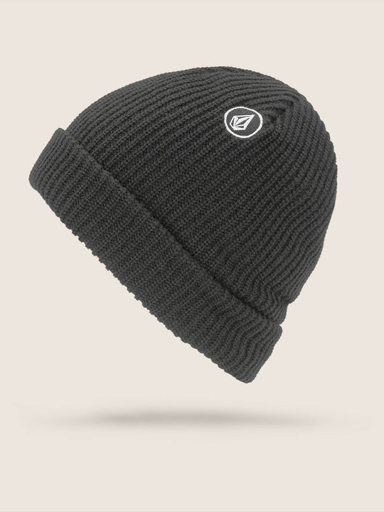 Sweep Beanie In Black, Back View