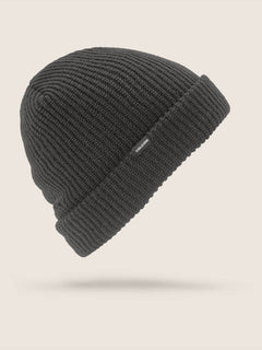 Sweep Beanie In Black, Front View