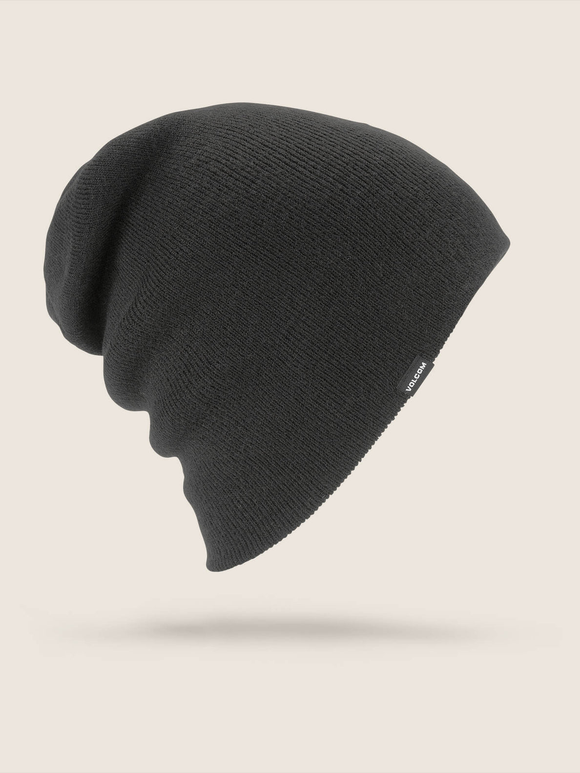 Modern Beanie In Black, Front View