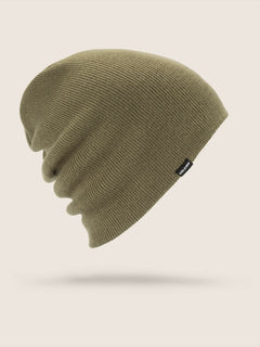 Modern Beanie In Snow Military, Front View
