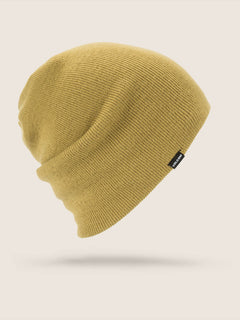 Modern Beanie In Resin Gold, Front View