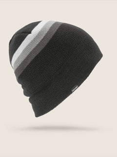 Apres Beanie In Black, Front View