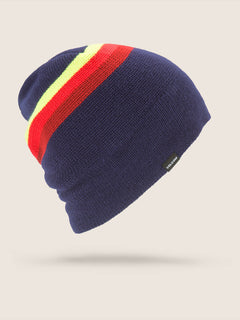 Apres Beanie In Navy, Front View