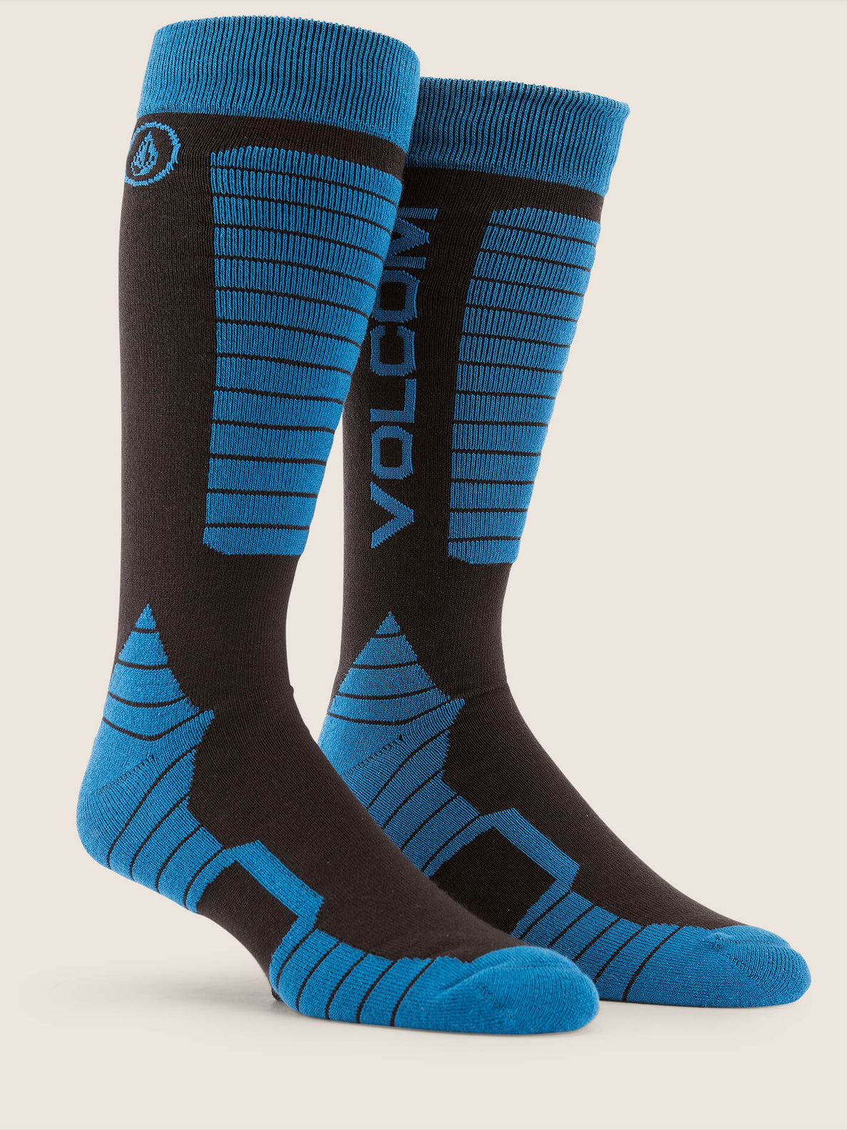 Kootney Sock In Blue, Front View