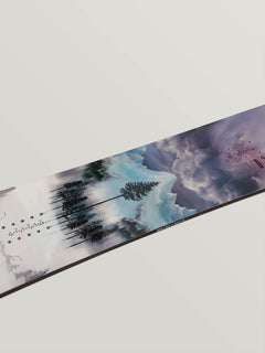 Nitro Beast X Volcom Snowboard In Multi, Second Alternate View