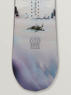 Nitro Beast X Volcom Snowboard In Multi, Third Alternate View