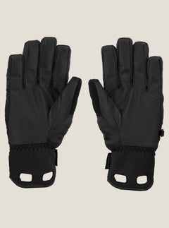 Cp2 Gore-tex® Glove In Black, Back View