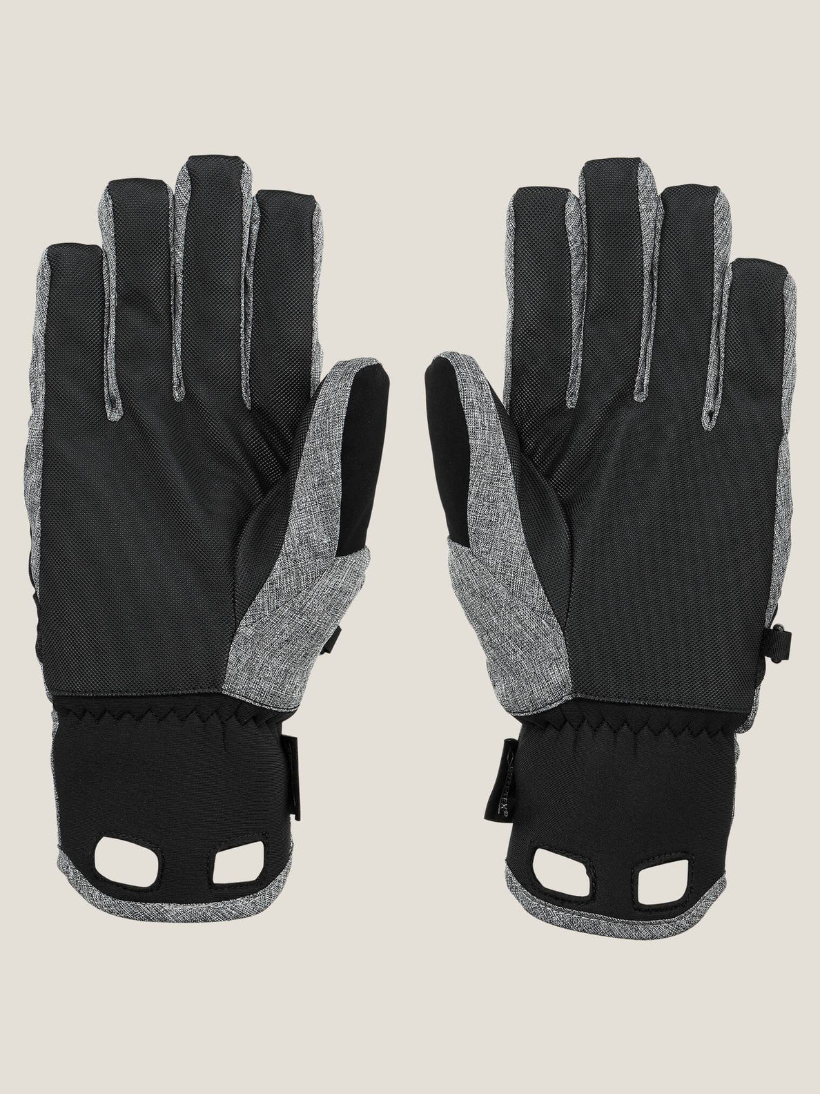 Cp2 Gore-tex® Glove In Heather Grey, Back View