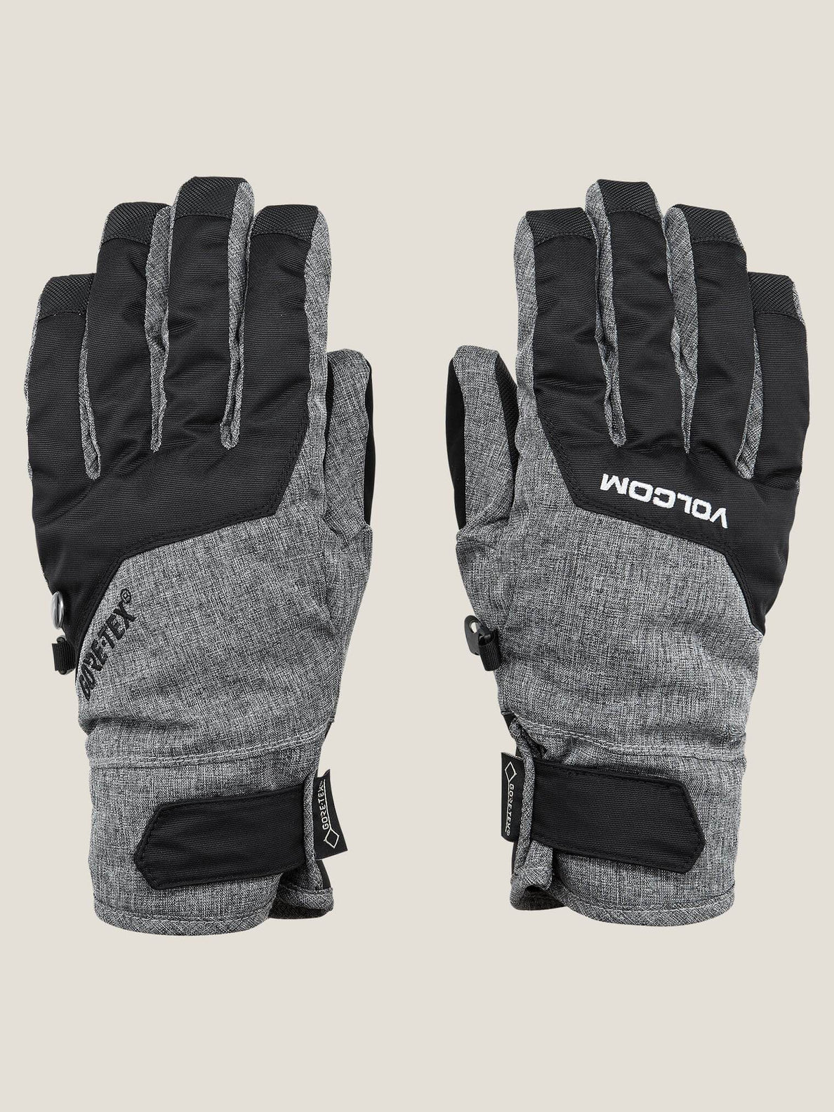 Cp2 Gore-tex® Glove In Heather Grey, Front View