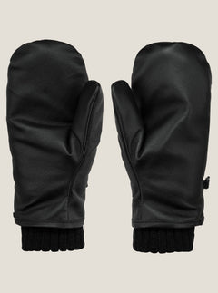 Emmet Rope Tow Mitt In Black, Back View