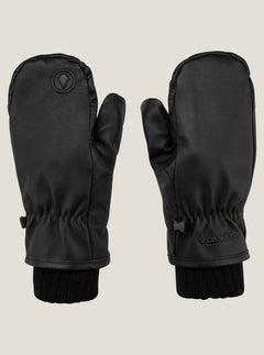 Emmet Rope Tow Mitt In Black, Front View